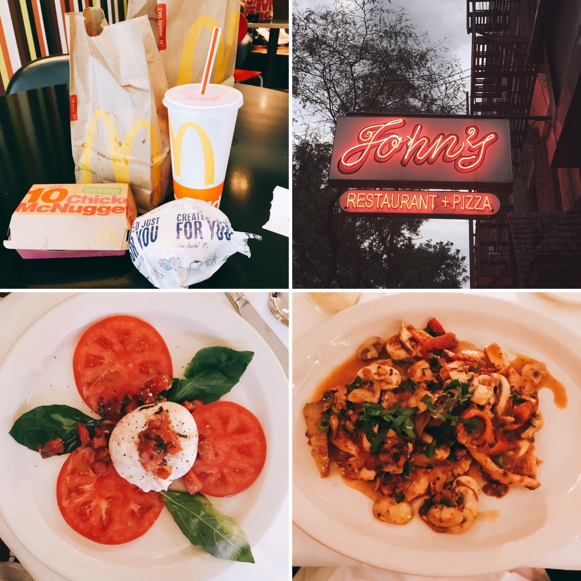 the wee food blogger© New York food journals